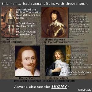 Bible gay King James